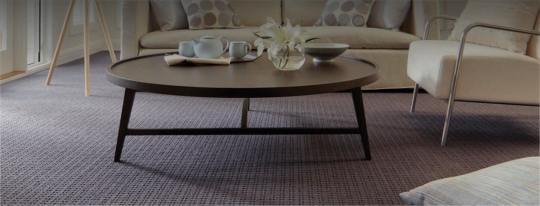 Jupps floor coverings coffee table showroom