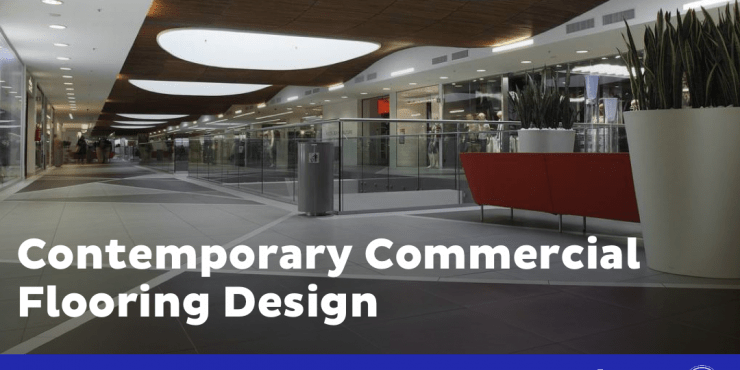 Contemporary Commercial Flooring Design