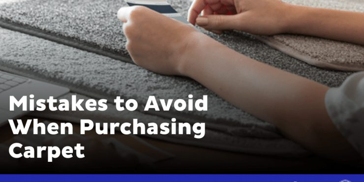 Mistakes to avoid when purchasing carpet.