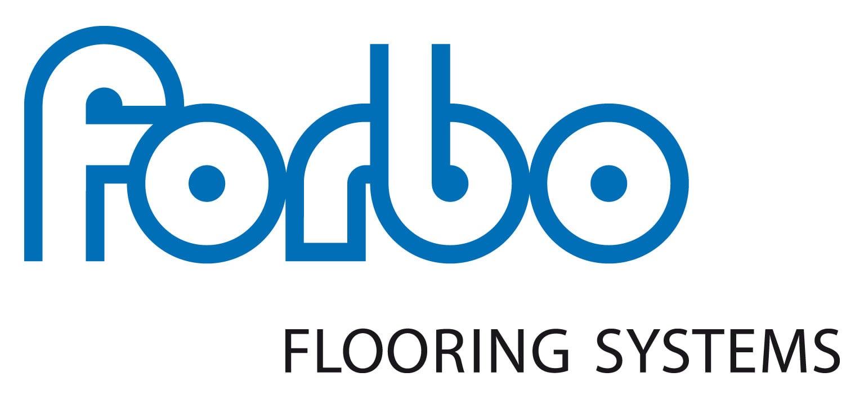 Blue Forbo flooring systems Logo white bg