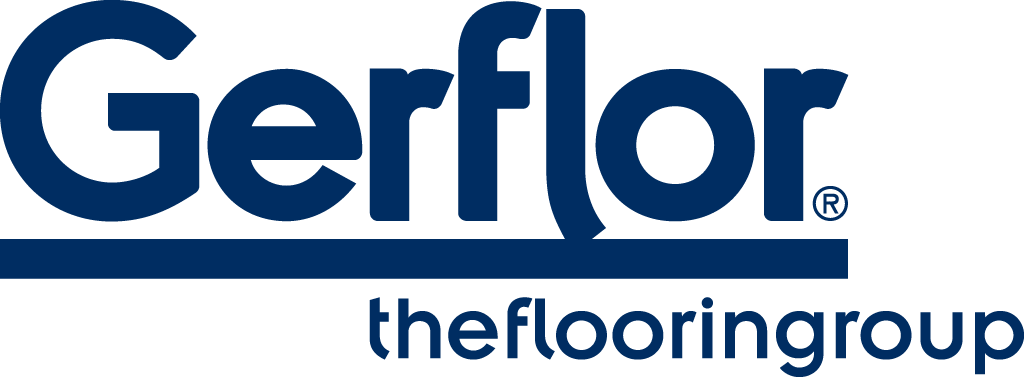 Gerflor blue transparent bg logo big