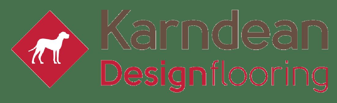 Karndean flooring brown red logo transparent bg