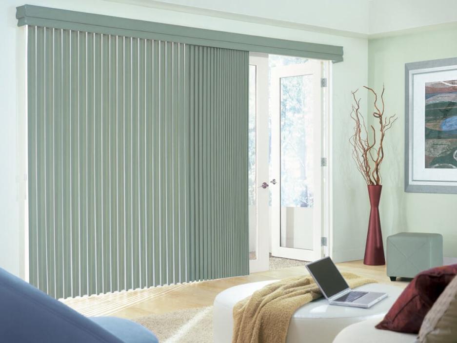 Window Treatment Green Blinds