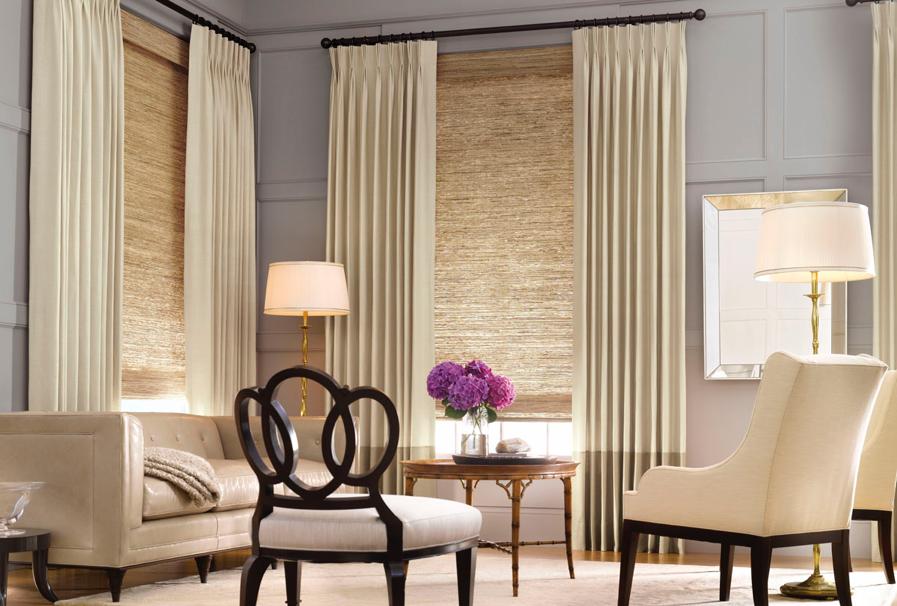 Window Treatments Beige Curtains