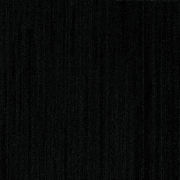 Dark Black Long Grain Ebony Carpet Flooring