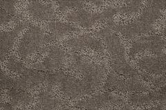 Dark Swirl Leaf Design Carpet Flooring