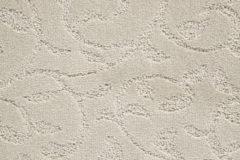 Light Cream Swirl Design Angelica Carpet Flooring