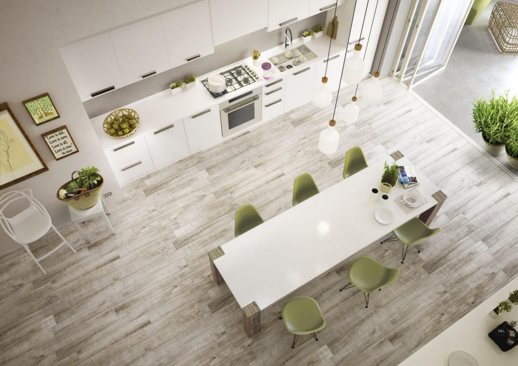 Ergonomic kitchen - pick your tiles