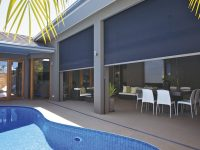 Outdoor blinds solutions for Perth and WA - clear PVC cafe blinds, Shadetrack Outdoor Blinds, Zipscreen outdoor blinds