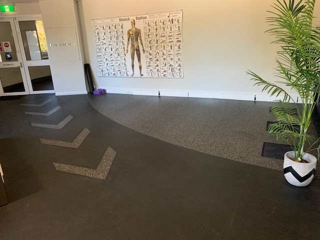 Geographe Leisure Center - City of Busselton - Fitness Flooring Installation - Jupps Commercial