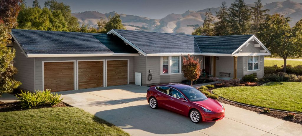 Solar roof from tesla
