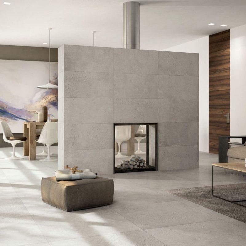 Concrete Look - Tile Trends