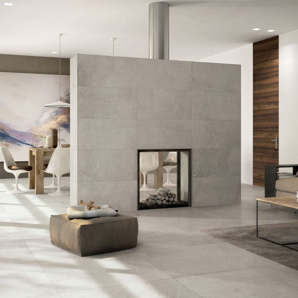 Concrete Look - Tile Trends