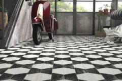 Graphic Tile - Garage Floor