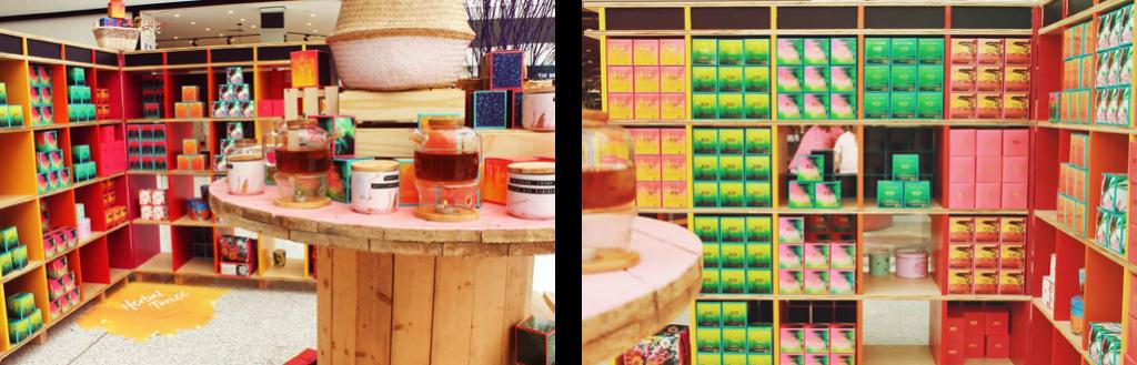 XO pop up shop - retail design trends