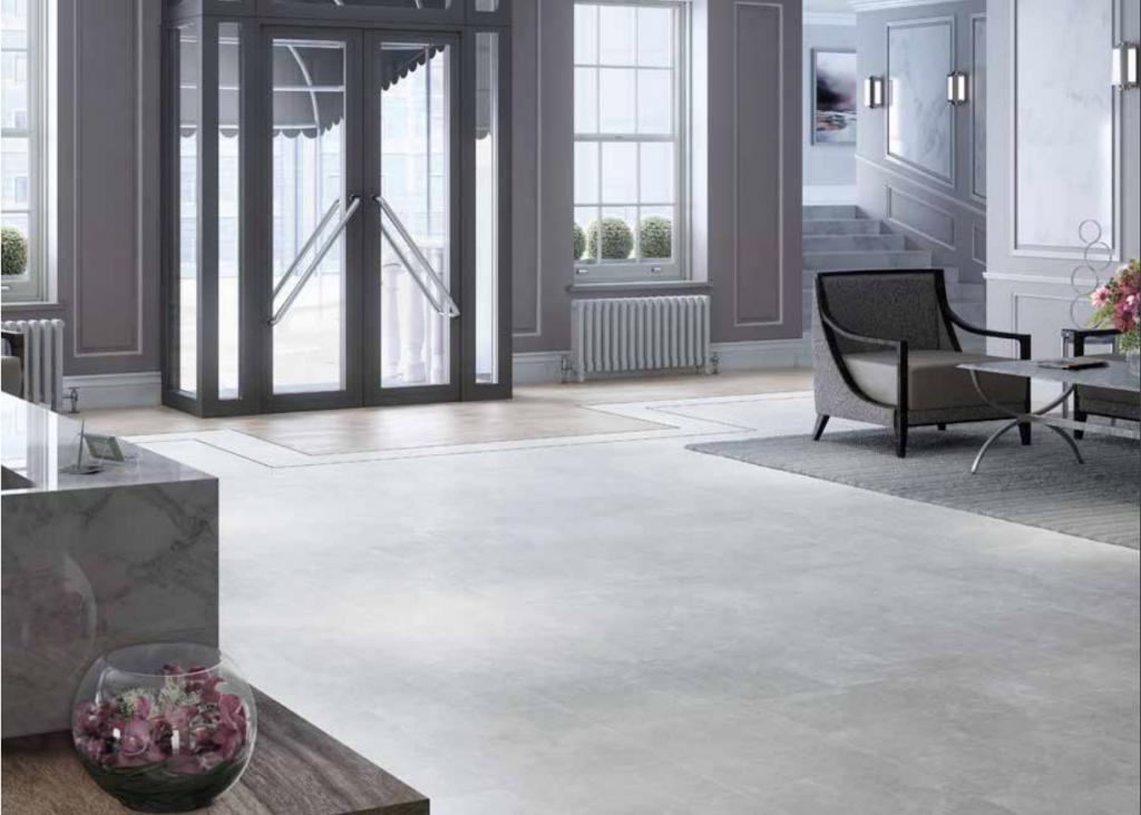 Luxury Vinyl tile - commercial venue